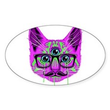 Hallucination Cat Decal