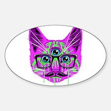 Hallucination Cat Decal