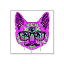 Hallucination Cat Sticker