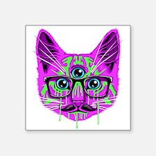 Hallucination Cat Sticker