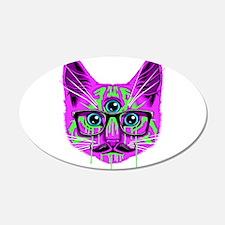 Hallucination Cat Wall Sticker
