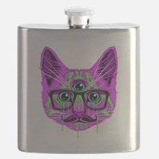 Hallucination Cat Flask