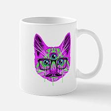 Hallucination Cat Small Mug