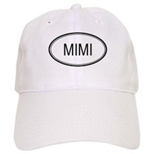Mimi Oval Design Baseball Cap