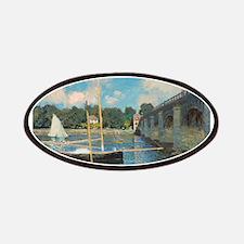 Claude Monet - The Bridge at Argenteuil Patches