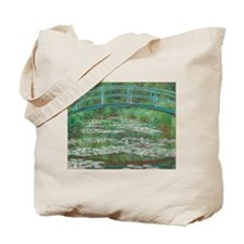 Claude Monet - The Japanese Footbridge 1899 Tote B