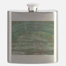 Claude Monet - The Japanese Footbridge 1899 Flask