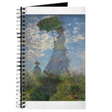 Claude Monet - Woman with a Parasol Journal