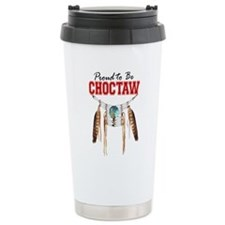 Proud to be Choctaw Travel Mug