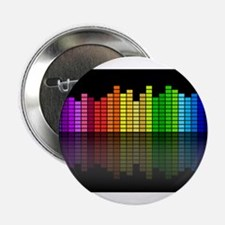 """Music Equalizer 2.25"""" Button"""