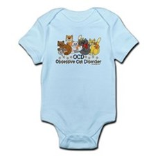 OCD Obsessive Cat Disorder Infant Bodysuit