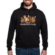 OCD Obsessive Cat Disorder Hoody