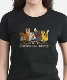 OCD Obsessive Cat Disorder Tee
