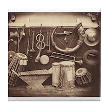 Edmond Lebel - Still Life of Musical Instruments T