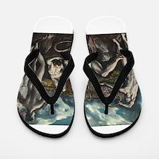 El Greco - Laocoon Flip Flops