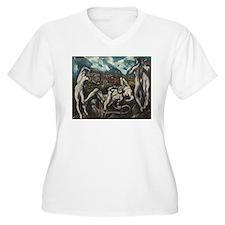 El Greco - Laocoon Plus Size T-Shirt