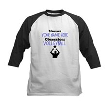 Custom Volleyball Obsession Baseball Jersey