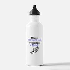 Custom Running Obsession Water Bottle