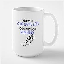 Custom Running Obsession Mug