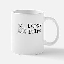 Puppy Piles Mugs