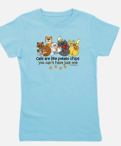 Cats are like potato chips Girl's Tee