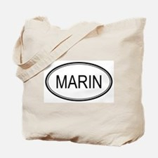 Marin Oval Design Tote Bag