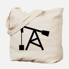 Oil Pump Tote Bag