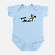 New Smyrna Beach - Surf Design. Infant Bodysuit