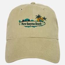 New Smyrna Beach - Surf Design. Baseball Baseball Cap