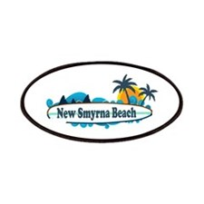 New Smyrna Beach - Surf Design. Patches