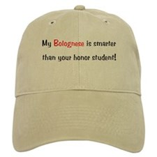 My Bolognese is smarter... Baseball Cap