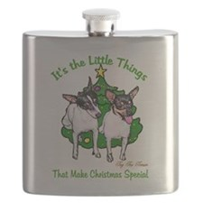 Toy Fox Terrier Flask