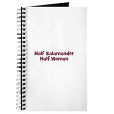 Half SALAMANDER Half Woman Journal