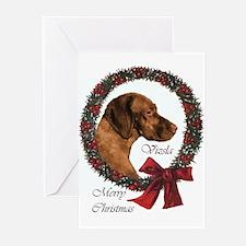 Vizsla Christmas Greeting Cards (Pk of 10)