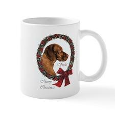 Vizsla Christmas Small Mug