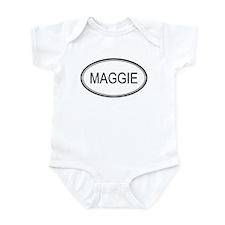 Maggie Oval Design Infant Bodysuit