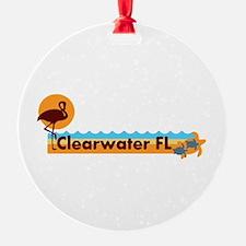Clearwater FL - Beach Design. Ornament