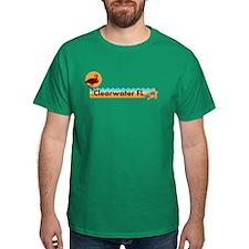 Clearwater FL - Beach Design. T-Shirt