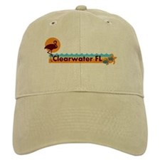 Clearwater FL - Beach Design. Baseball Cap