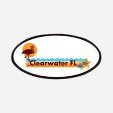 Clearwater FL - Beach Design. Patches