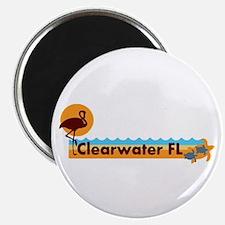 Clearwater FL - Beach Design. Magnet
