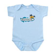 Clearwater FL - Surf Design. Infant Bodysuit