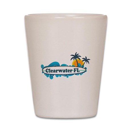 Clearwater FL - Surf Design. Shot Glass