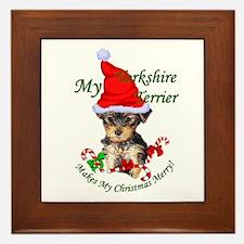 Yorkshire Terrier Framed Tile