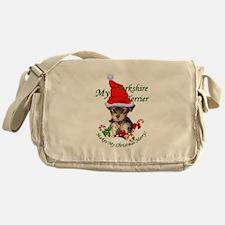 Yorkshire Terrier Messenger Bag
