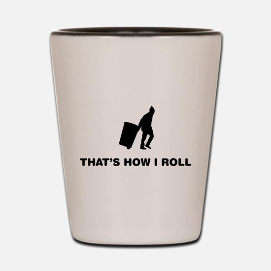 Waste Collector Shot Glass