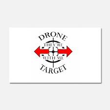 DRONE TARGET Car Magnet 20 x 12