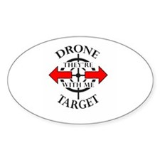 DRONE TARGET Decal