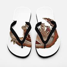 Anteater Flip Flops