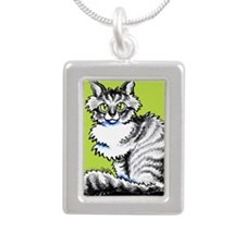 Maine Coon Tabby Off-Leash Art™ Necklaces